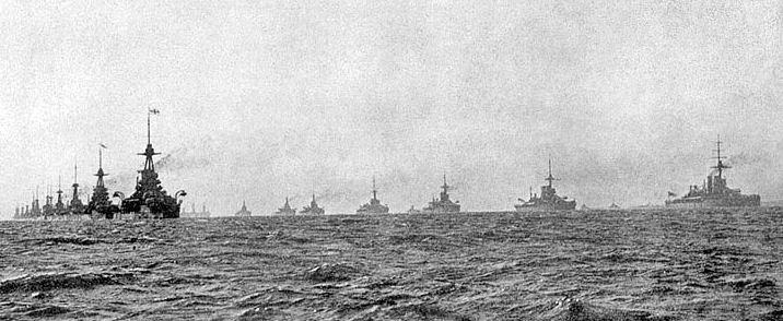 Jutland-fleet