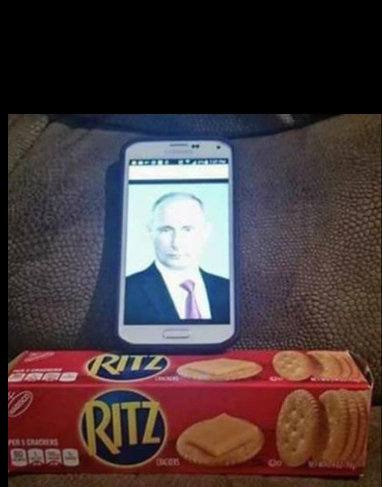 Putin and crackers