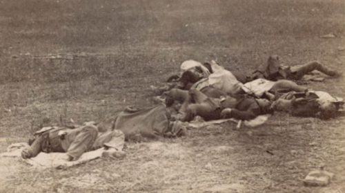 Irish brigade dead